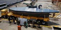 Drug Submarine Found Colombia