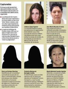Wanted Women of Drug Cartels