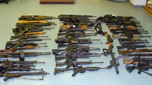 Weapons destined for the Los Zetas