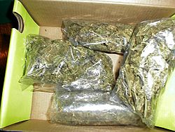 Marijuana packaged for sale!