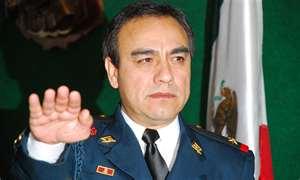 Julian Leyzaloa former police chief
