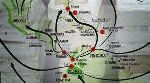 Gun Trafficking Routes in Latin America