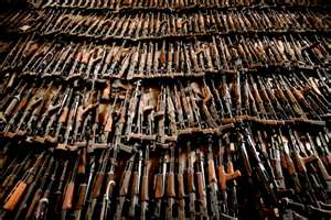 Weapons destined for Mexico!