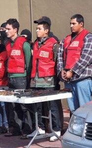 los Zetas criminals captured