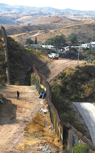 Border protection; not much of a wall!