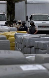 over a ton of Marijuana recovered