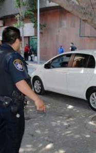 police destroy crime scene?