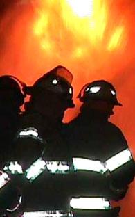 Firemen at work in Torreon!