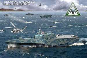 U.S. Combat ship