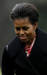 Michelle Obama's tantrums in the White House