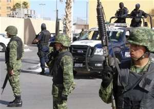 Soldiers being sent to secure all parts of Mexico, which are under control of Los Zetas
