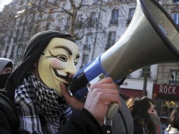Anonymous has signed-off their online assaults