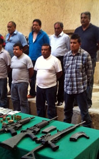 Humberto Lazcano, cousin of the leader of Los Zetas captured
