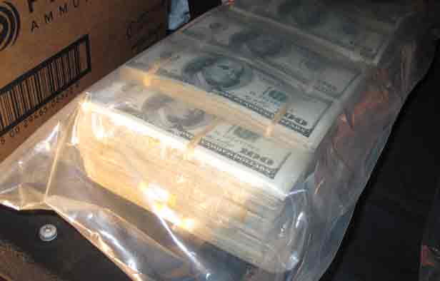 $387 Thousand dollars seized