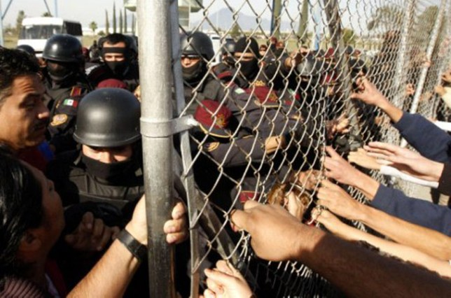 Monterrey Prison riots have left at least 44 dead,