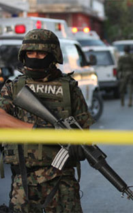 Shootout in Tijuana leaves five dead