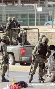 Coahuila is over-run  by shootings and violence