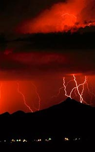 Lightning kills six adults in a family in the Mixe of Oaxaca