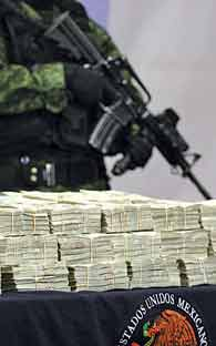 MEXICO CITY - Organized crime moves $ 2.1 trillion per year