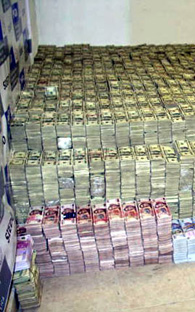 some of the confiscated drug money out of Billions