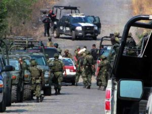 "six alleged members of the criminal organization known as ""Los Zetas"" captured"