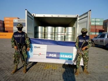 Precursor drugs destined for Honduras seized