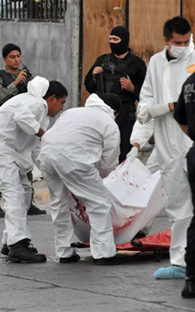 Ten people are killed in different incidents in Guerrero