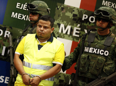 """piracy czar"", alleged member of Los Zetas cartel"