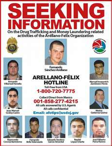 Seized $ 90 000 belonging to the Arellano Felix in Tijuana