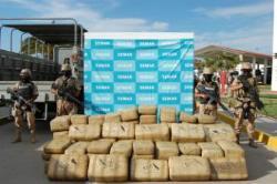 866.5 kilograms a ton of marijuana
