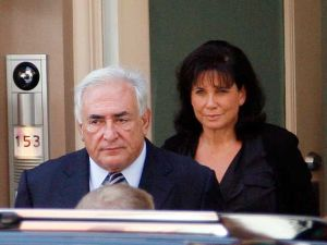 The marriage of more than 20 years between Dominique Strauss-Kahn and Anne Sinclair journalist is over