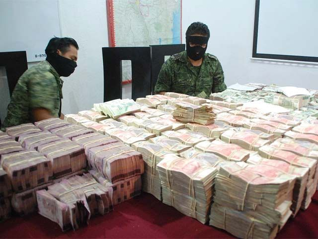 Mexican Cartels and Arab banks are linked to terrorist and money laundering