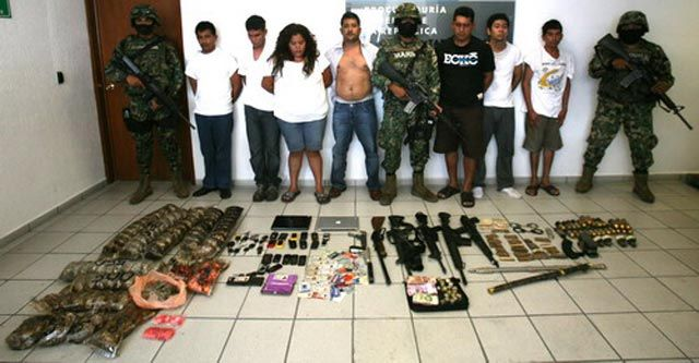 Chief of Square of Jalisco Cartel captured