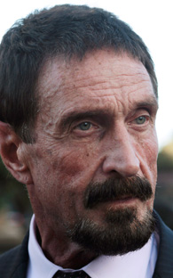 John McAfee shows up in Guatemala