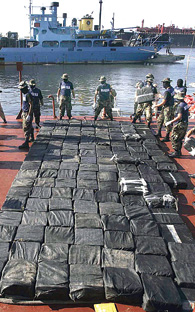 Mexican drug cartels dominate the world of drugs distribution