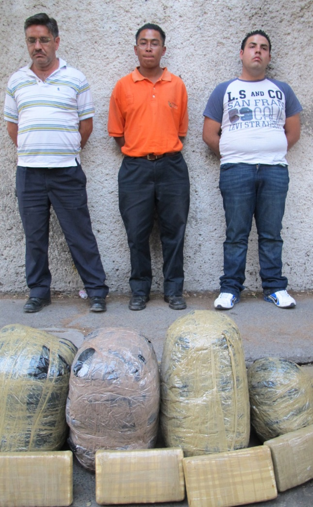 identified as smugglers of Marijuana in Santa Fe
